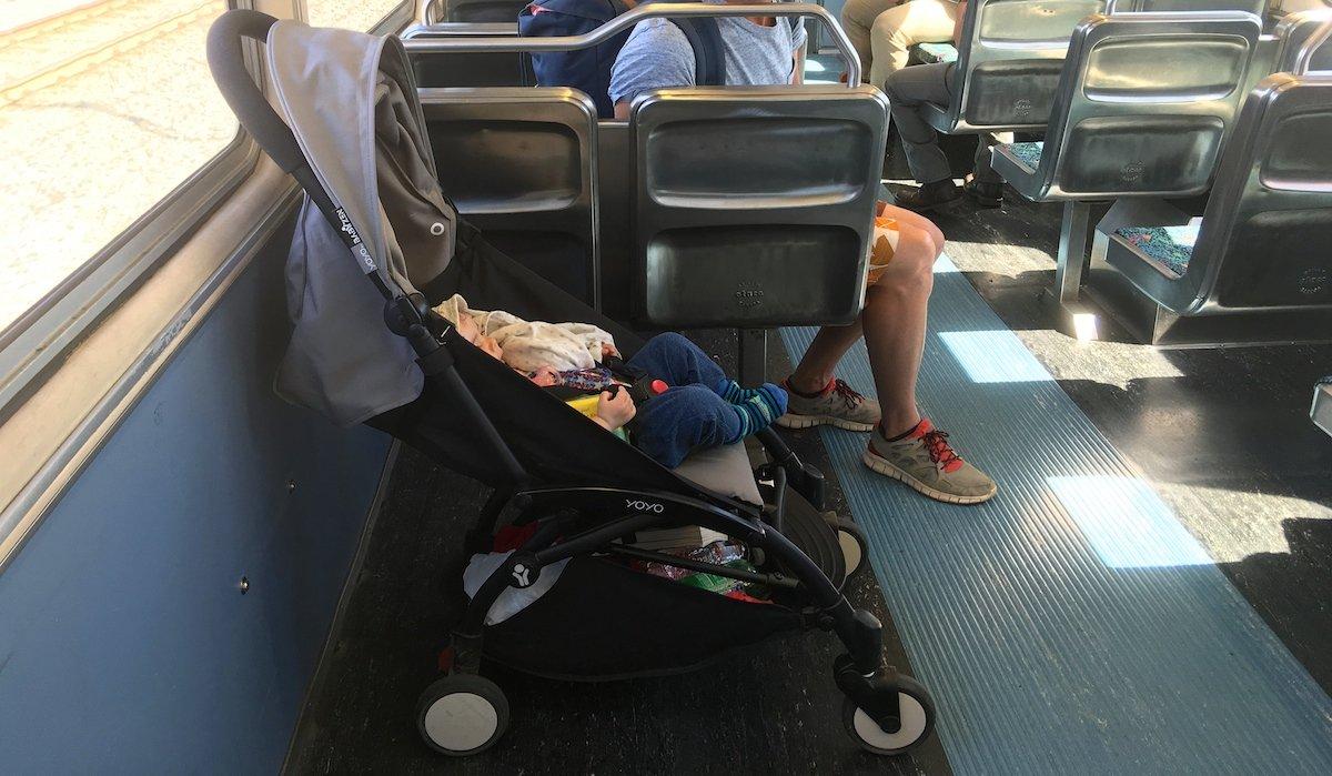 Santa Monica mit Baby Anreise