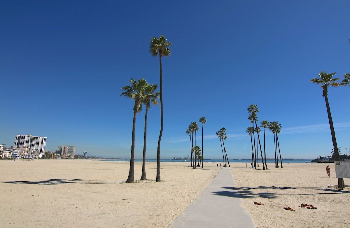 Strand bei Los Angeles