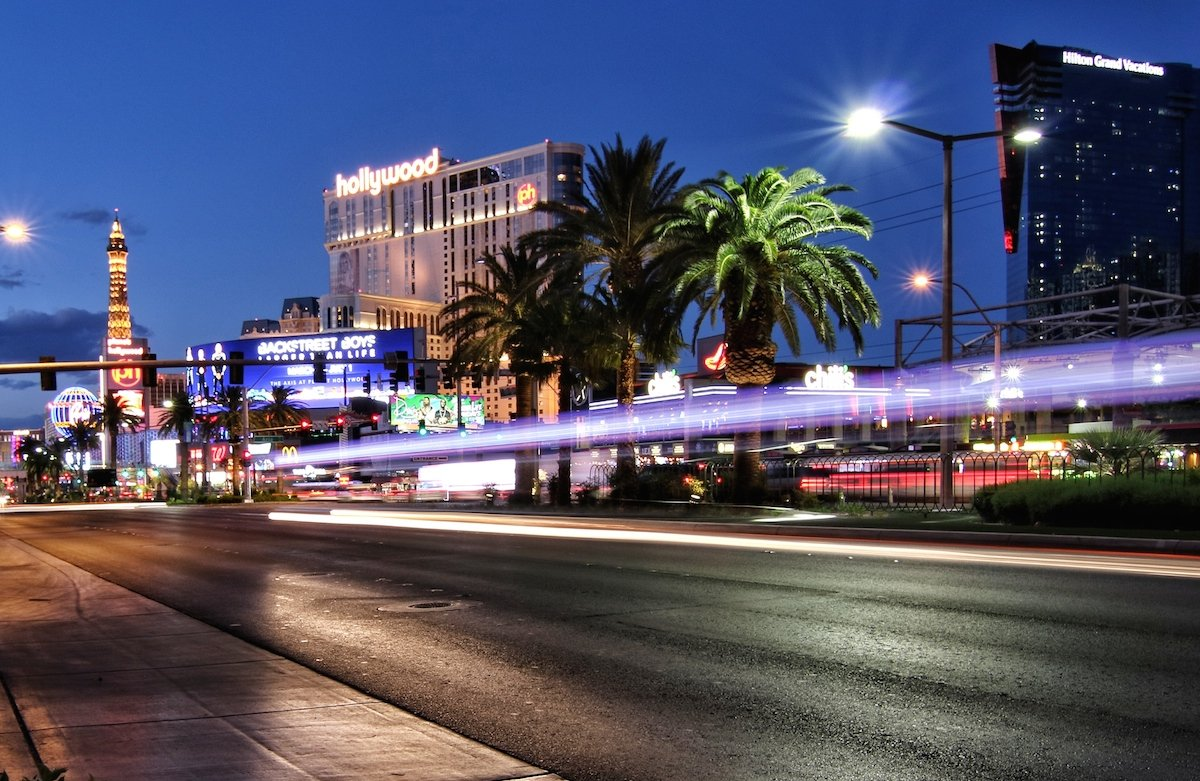 Las Vegas mit Baby