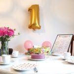 Wir feiern 1. Geburtstag. Geschenkideen, Rezepte und Deko