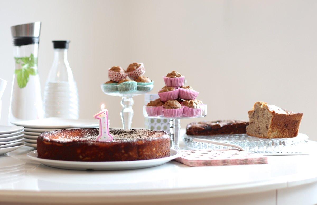 Muffins zum 1. Geburtstag