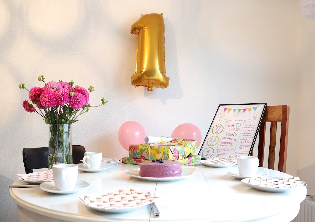 Deko Geburtstag 1 : wir feiern 1 geburtstag geschenkideen rezepte und deko reise mama ~ Markanthonyermac.com Haus und Dekorationen