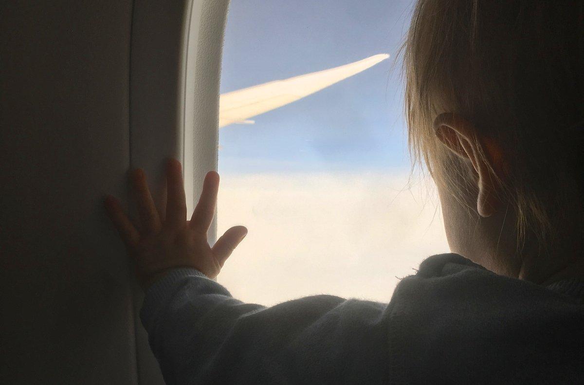 Karibik Flug mit Kleinkind