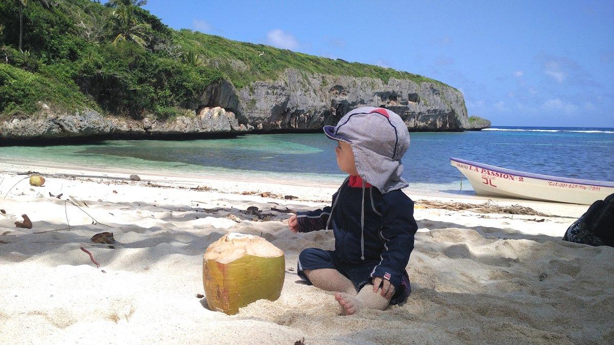 Karibik Urlaub mit Kleinkind