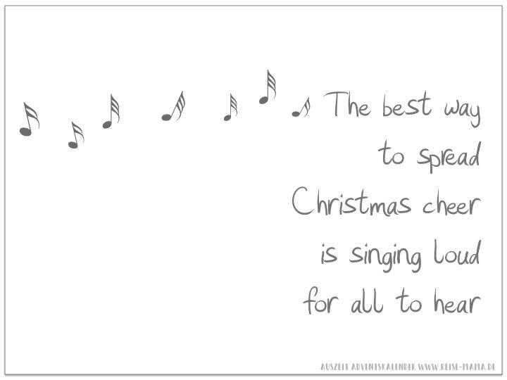 Auszeit singen