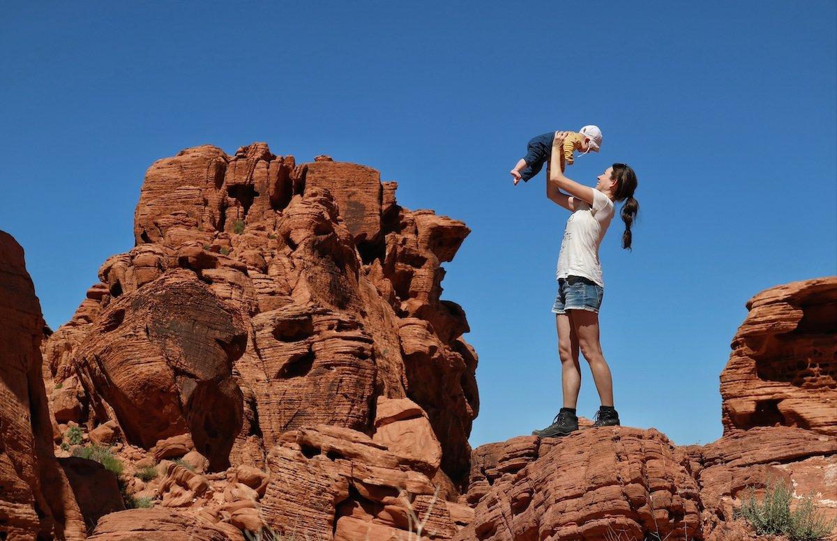 Lieblingsfotos vom Reisen mit Baby Natur