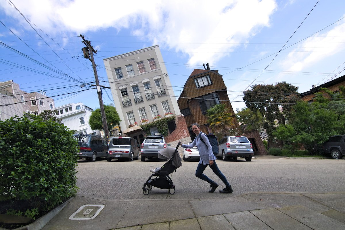Lieblingsfoto Reisen mit Baby Stadtbild