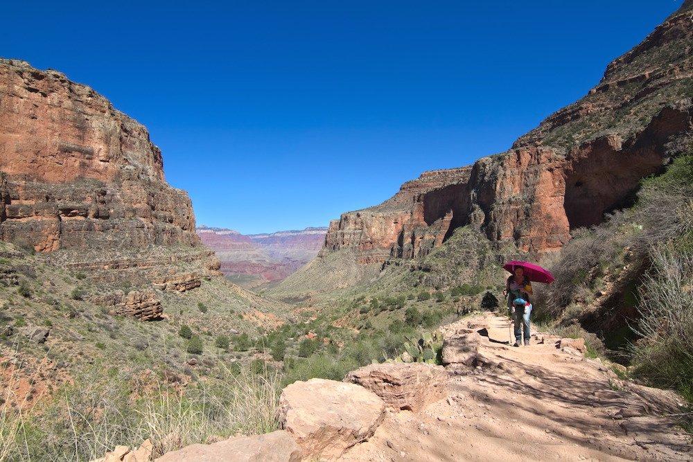 Grand Canyon Baby Herausforderung