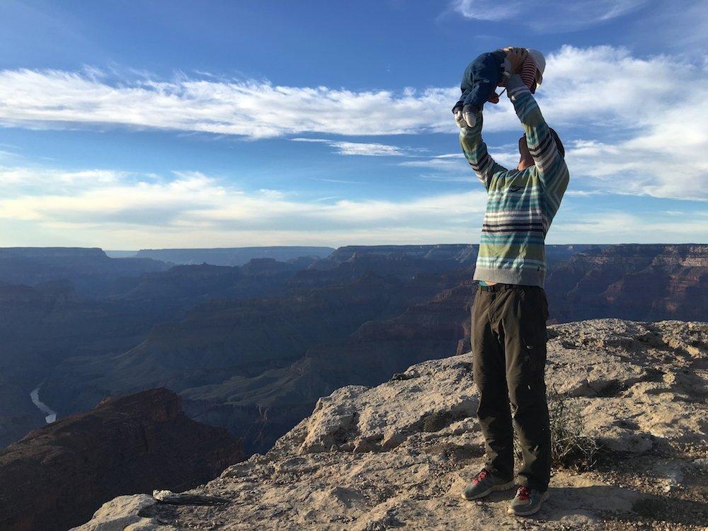 Grand Canyon Kleinkind