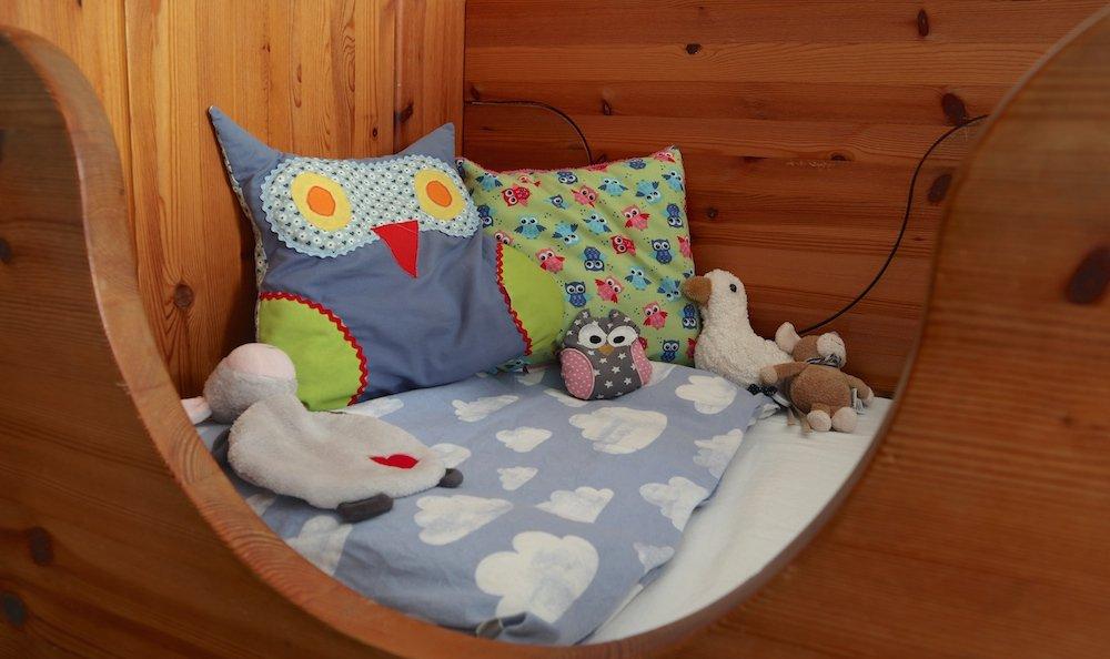 Babys erstes eigenes Bett gutes Klima