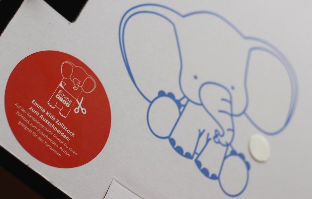 Elefanten Messlatte