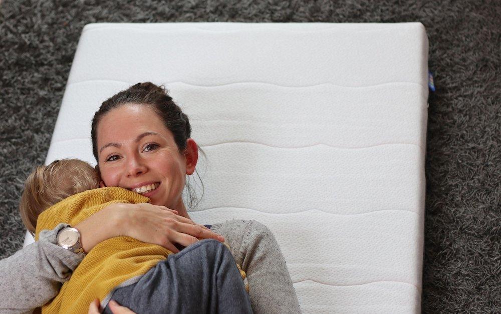 Babys erstes eigenes Bett Babymatratze
