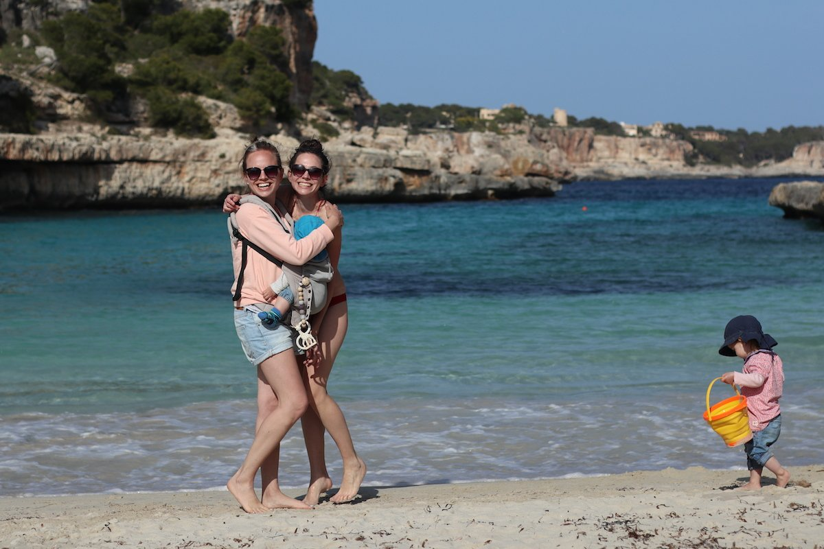 Mallorca mit Kleinkind Familienzeit