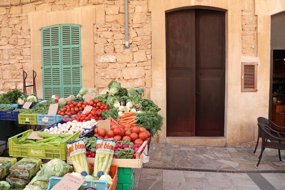 Mallorca mit Kleinkind Markt