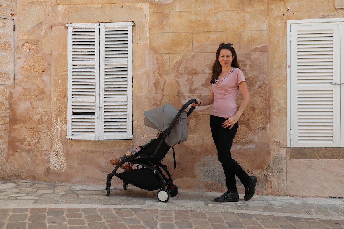 Mallorca mit Kleinkind Stadtbesichtigung