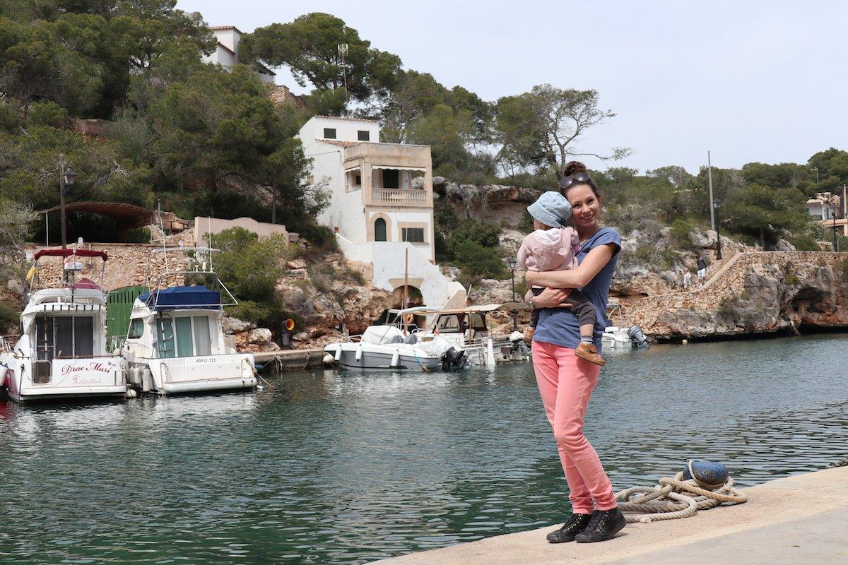 Mallorca mit Kleinkind Cala Figuera