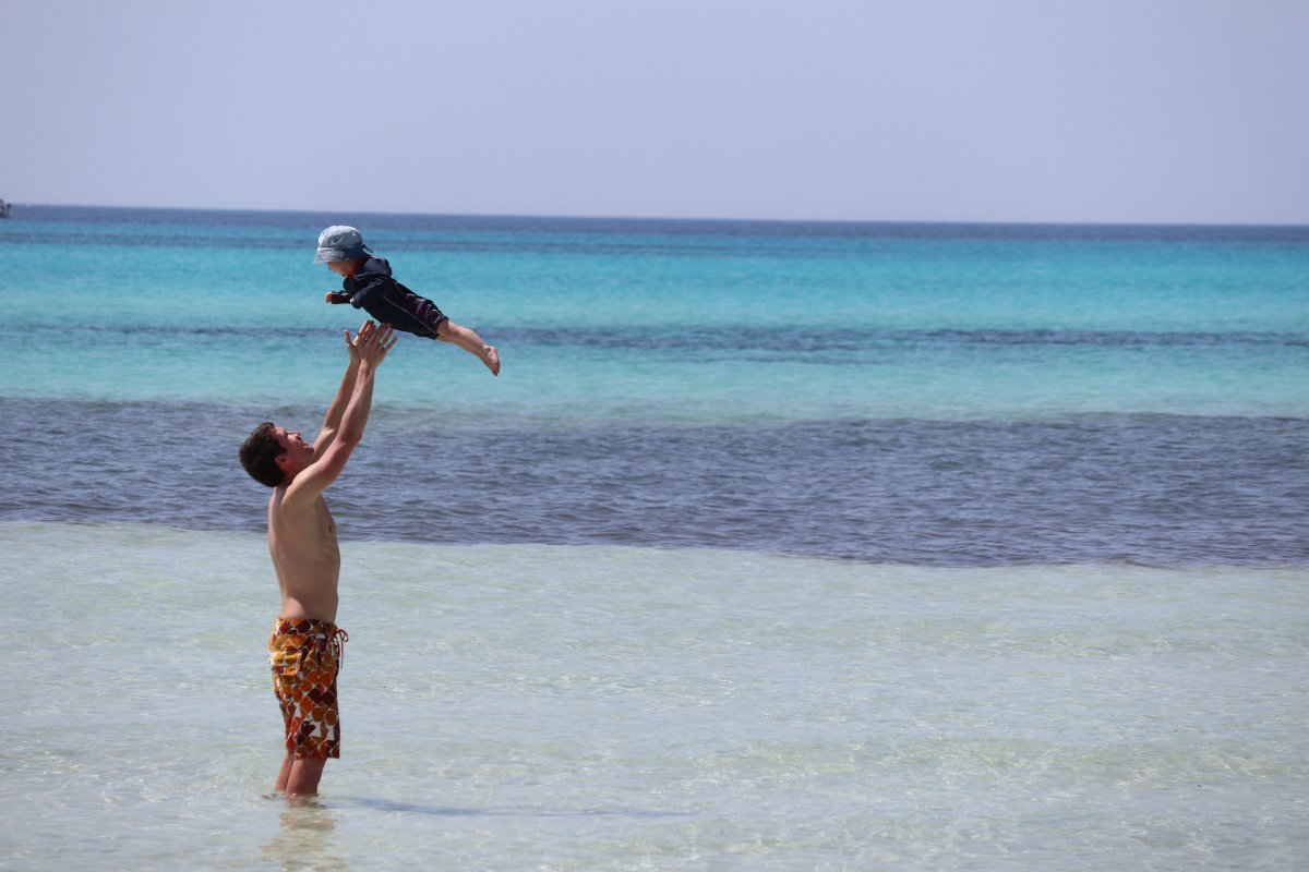 Mallorca mit Kleinkind Strand