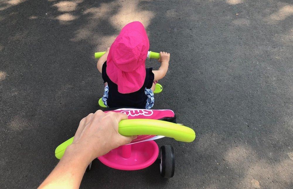 Sommertage Dreirad