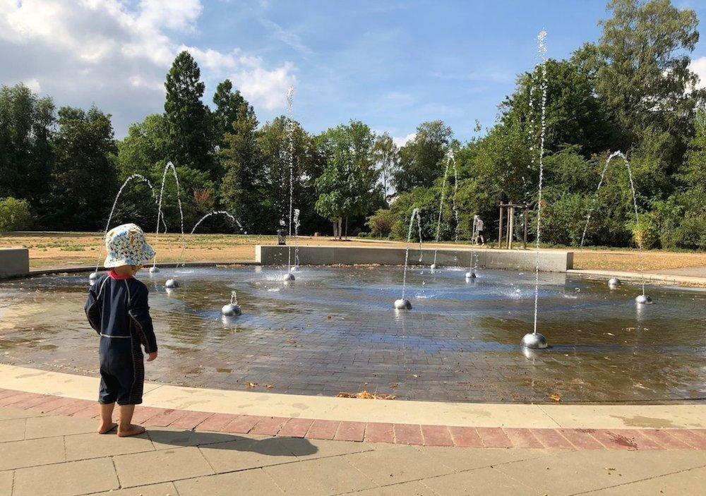 Sommertage mit Wasser