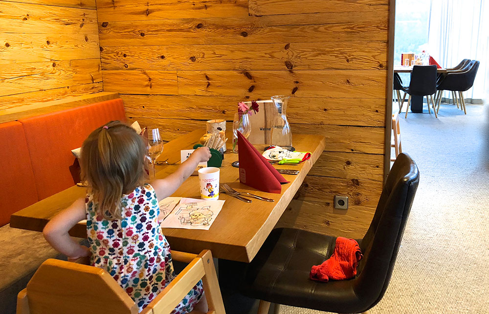 Familienhotel Bayern Essen mit Kindern