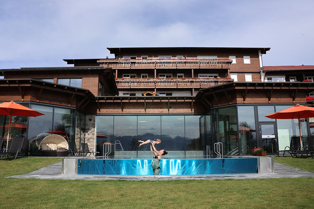 Familienhotel Bayern Schwimmbad