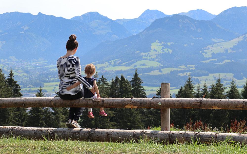 Familienhotel Bayern Aussicht genießen