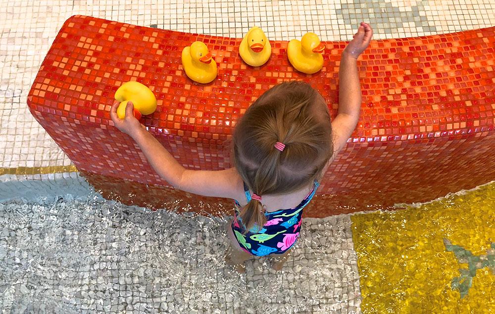 Familienhotel Bayern Kinderschwimmbad