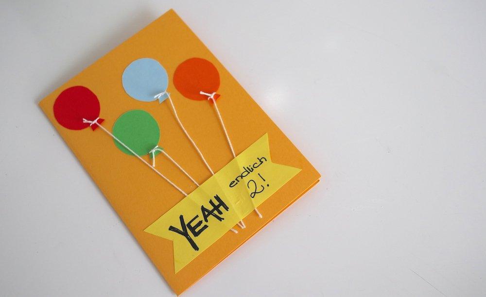 Geschenk-Ideen zum 2. Geburtstag