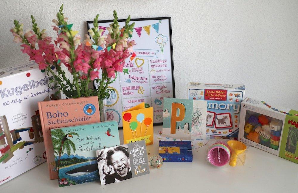 Geschenke zum 2. Geburtstag Ideen