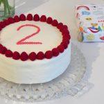 Kuchen zum 2. Geburtstag – Himbeertorte Rezept