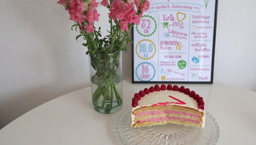 Kuchen zum Geburtstag Kleinkind