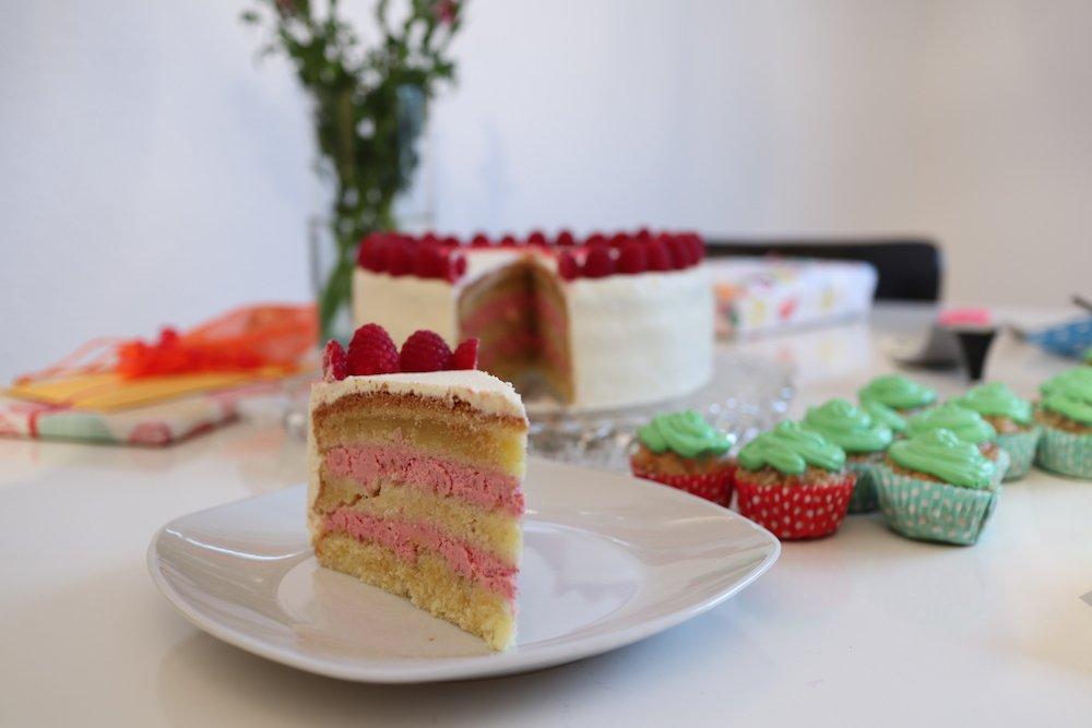 Kuchen Zum 2 Geburtstag Himbeertorte Rezept Reise Mama