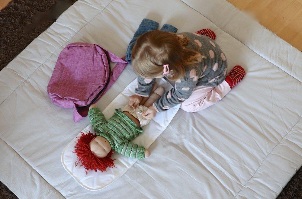 Puppenmama große Schwester neue Rolle