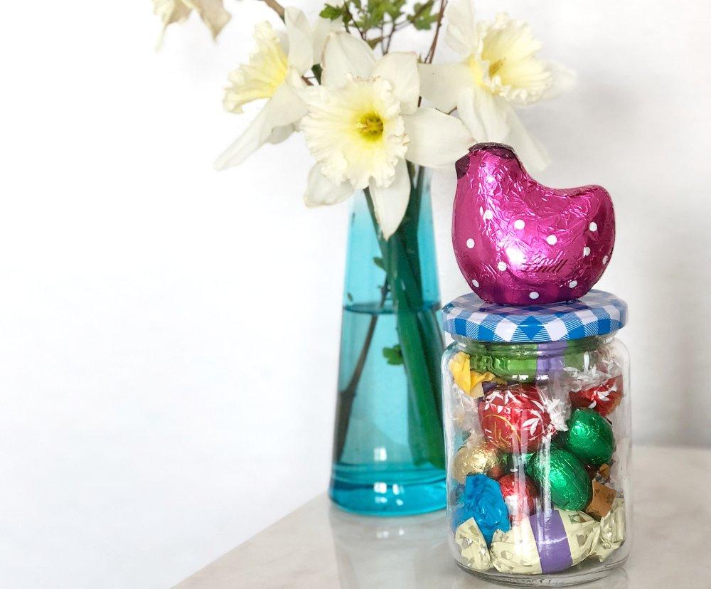 Oster DIY Geschenk im Glas