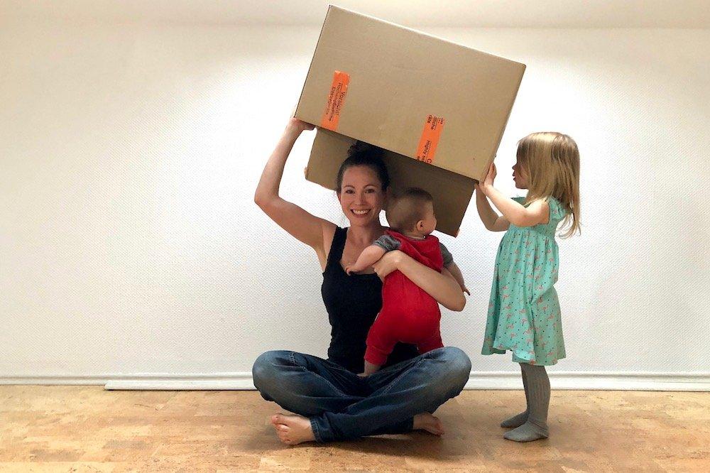 Umziehen mit Kindern