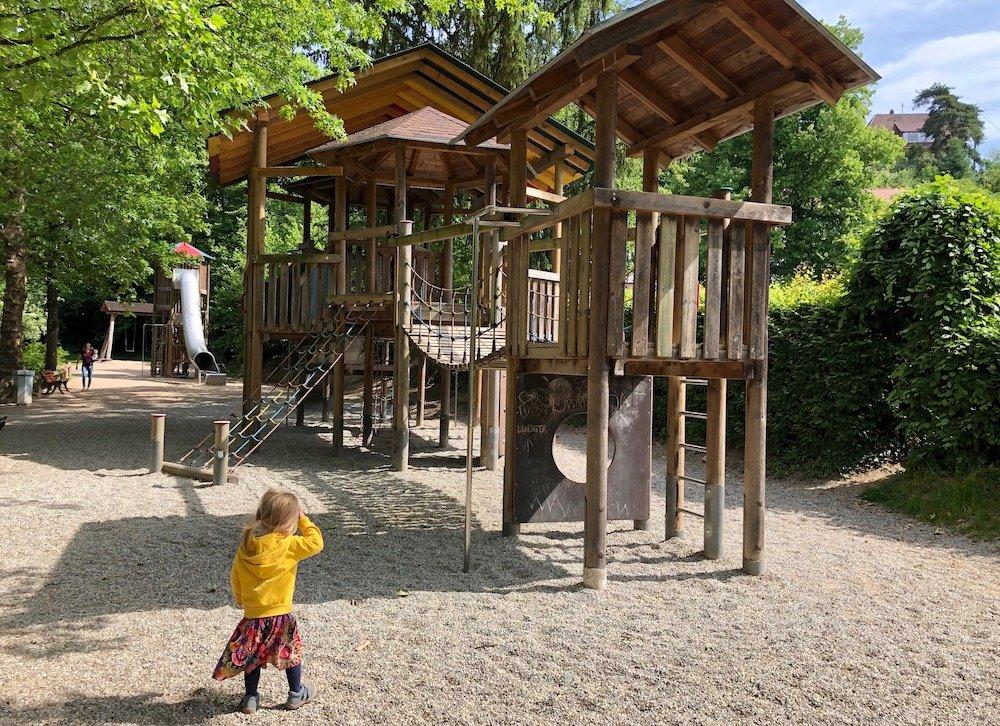 Sommer-Aktivitäten Spielplatz