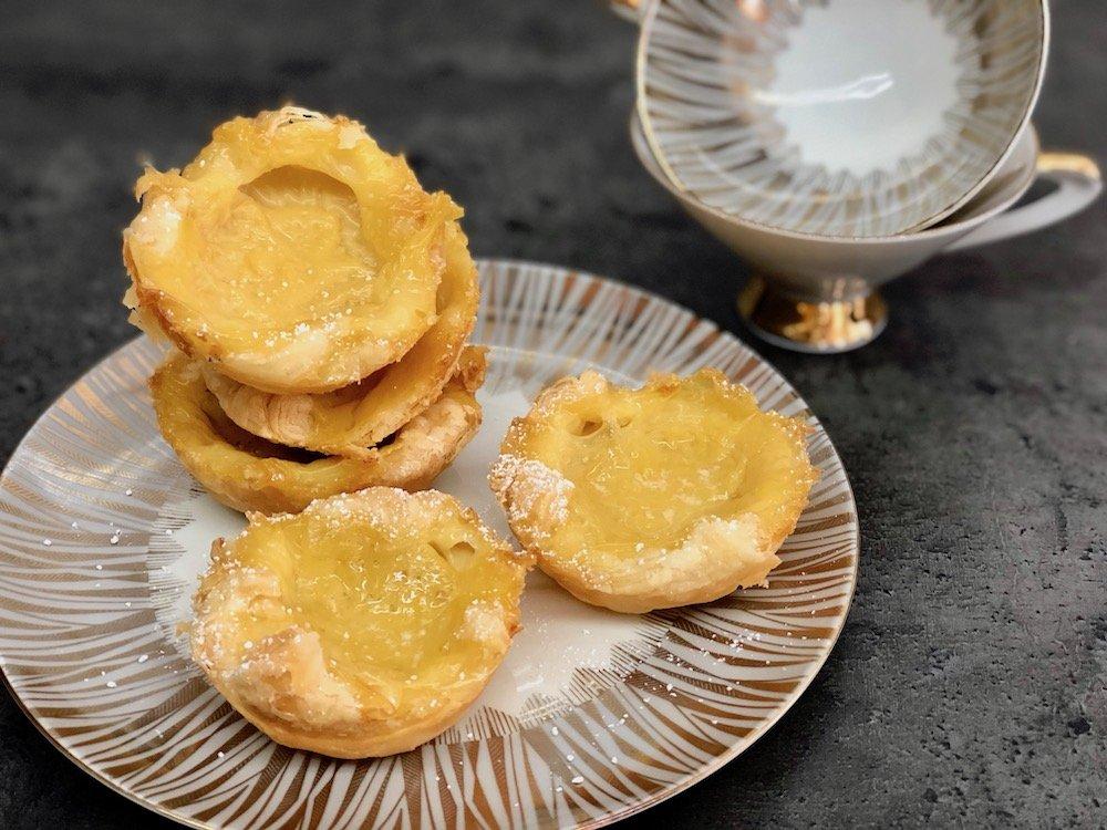 Pudding-Törtchen Rezept