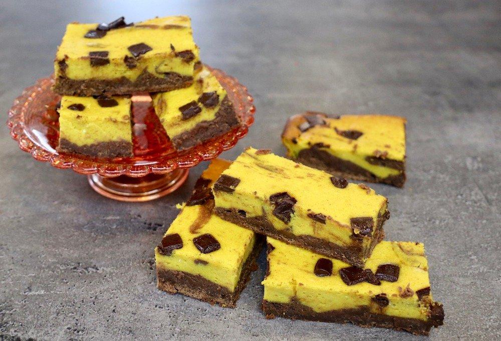 Kürbis-Schoko-Brownies Rezept
