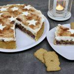 Spekulatius-Torte mit Kirschen | Rezept