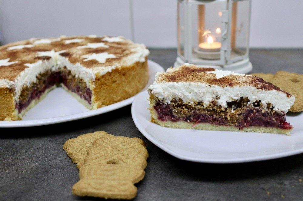 Spekulatius-Torte Weihnachtskuchen