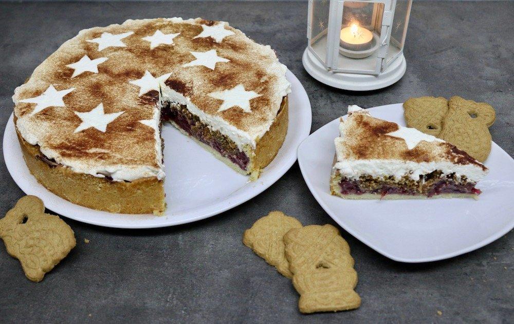 Spekulatius-Torte Rezept