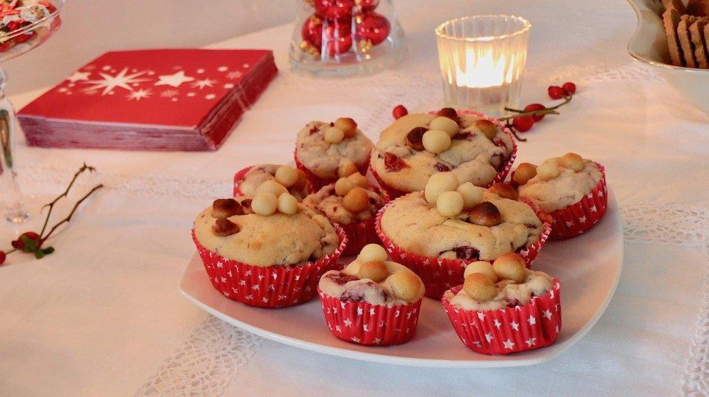 Marzipan-Kirsch-Muffins Rezept Advent