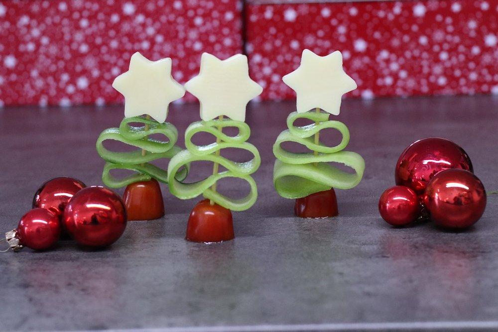 Weihnachten Fingerfood Tannenbaum Rezept
