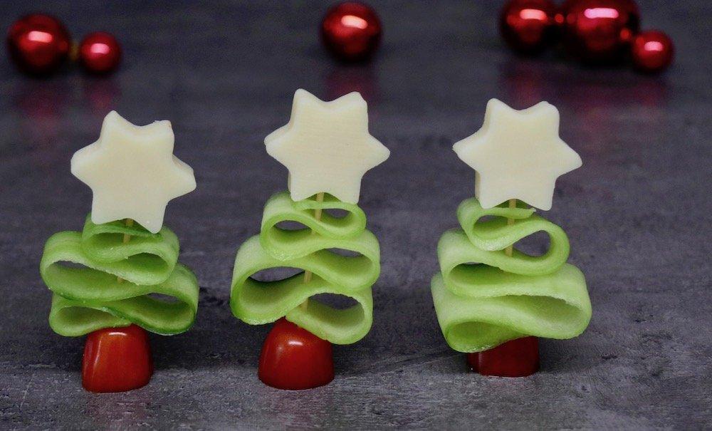 Weihnachten Fingerfood Tannenbaum