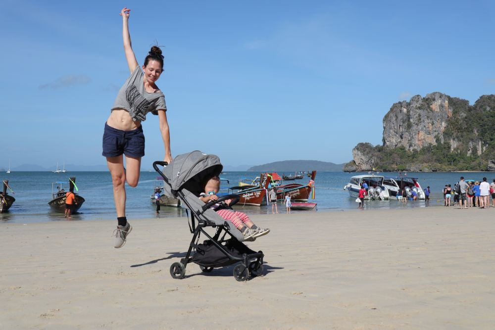 Reisebuggy in Asien