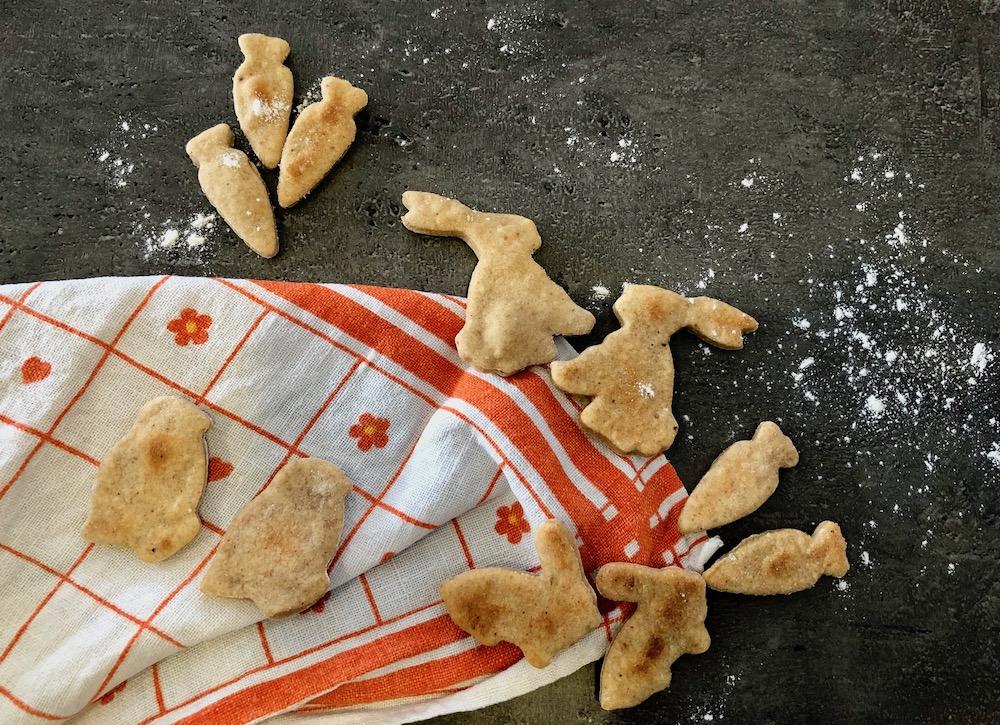 Vegane Kinder Kekse ohne Zucker