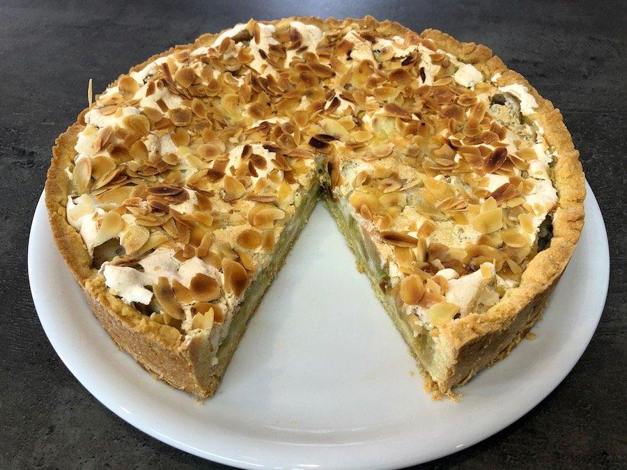 Rhabarber-Kuchen Rezept einfach
