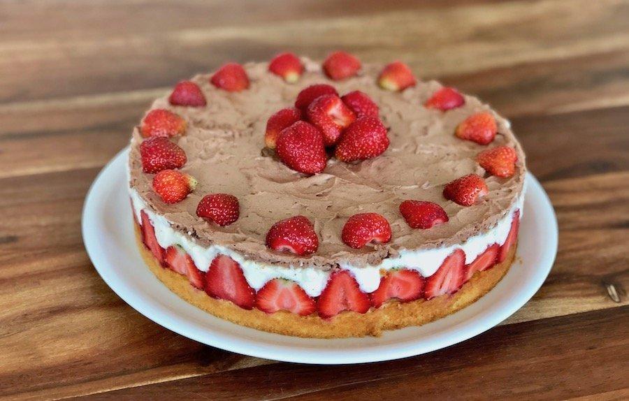 Erdbeer-Torte deluxe Rezept