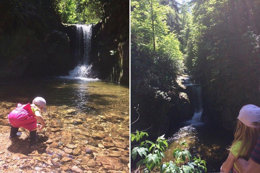 Camping im Schwarzwald mit Kind Geroldsauer Wasserfall