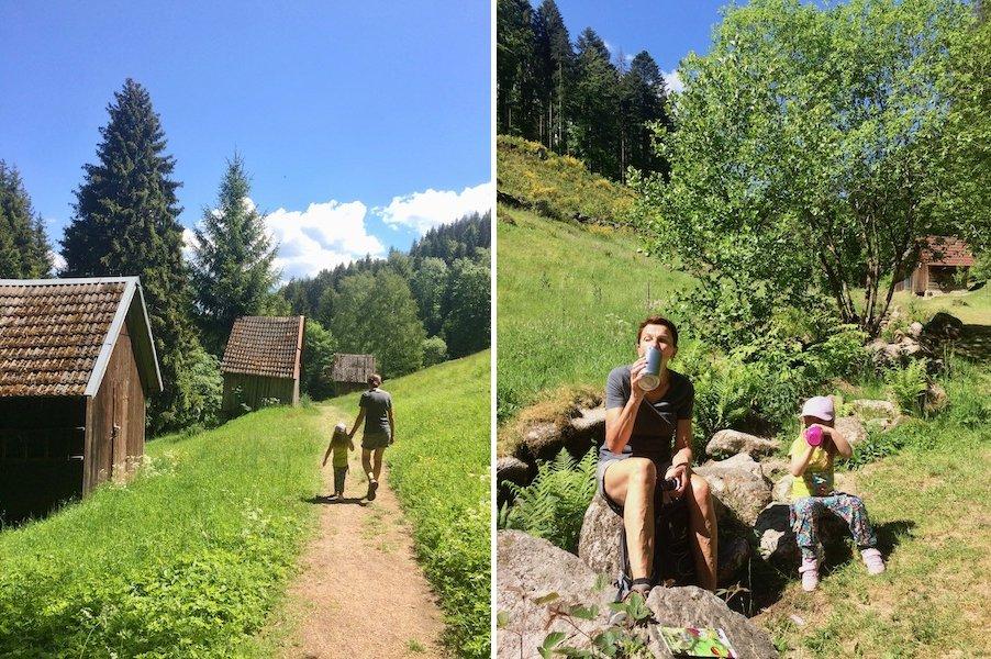 Camping im Schwarzwald mit Kind Glücksweg